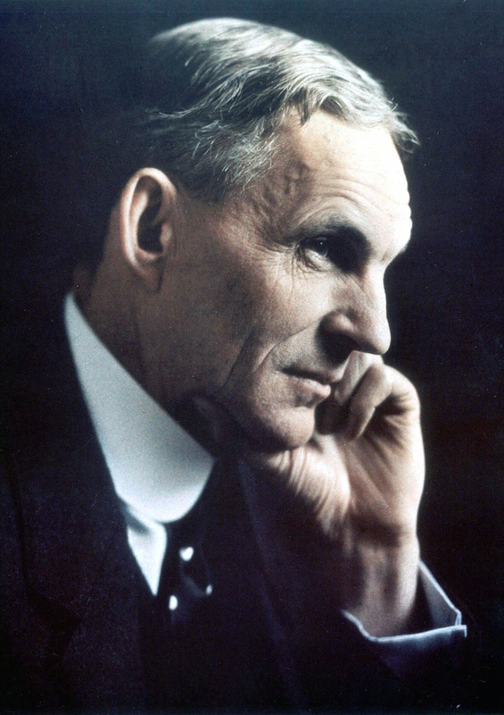 biography henry ford